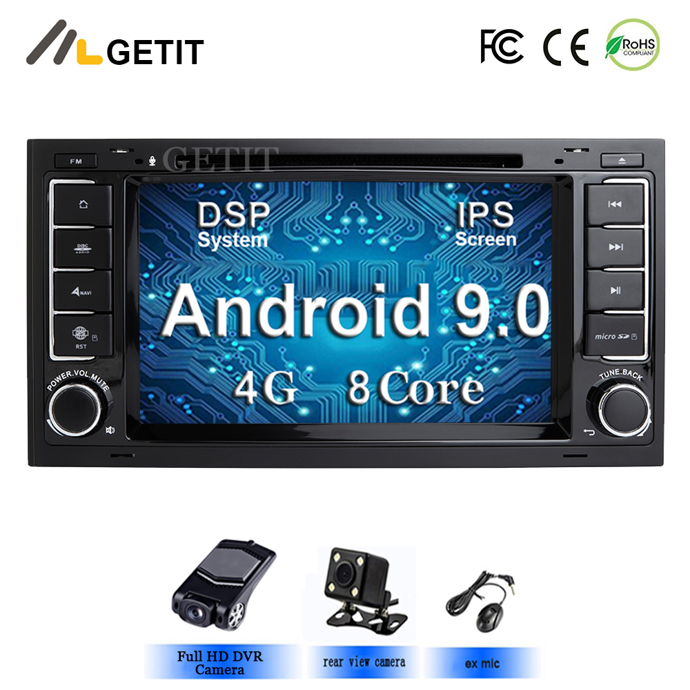 Android 9 0 Car DVD Player GPS for VW T5 Transporter Multivan Touareg with wifi BT