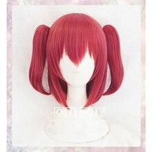 Kurosawa perruque de Cosplay Ruby, Love Live! Sunshine! Perruque pour déguisement, jouer pour déguisement dhalloween, cheveux + bonnet