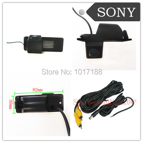 Car Rear View Reverse Parking Camera Waterproof Night Vision Sony Chip C Hevrolet Aveo Trailblazer Opel Mokka Cadillas Srx Cts