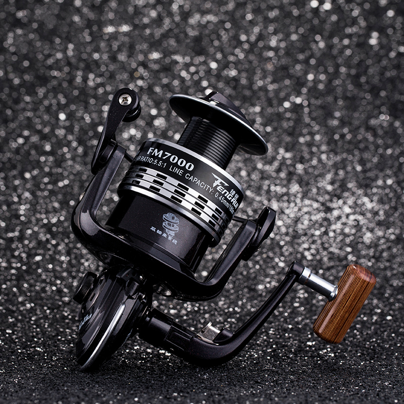 New Lure Reel Spinning Fishing Reel Gear ratio 4.9:1/5.5:1 Ball bearings 13+1 Foldable Rocker Wooden Handle Fishing Tackle dream m19 multifunctional opie fishing reel bag fishing bags pole tackle military lure reel backpack fishing gear 33 13 23cm