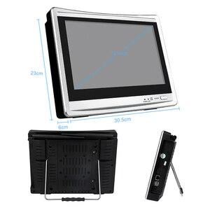 Image 4 - Techage 4CH 1080P bezprzewodowy 2MP Wifi system kamer bezpieczeństwa 12 cal Monitor LCD NVR HD zapis Audio CCTV zestaw do nadzorowania 2TB HDD