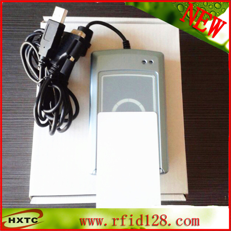 ACR122S NFC Contactless Smart Card Reader Serial RS232 free shipping c104h 4 rs 232 isa multiport serial card dhl ems free shipping used disassemble