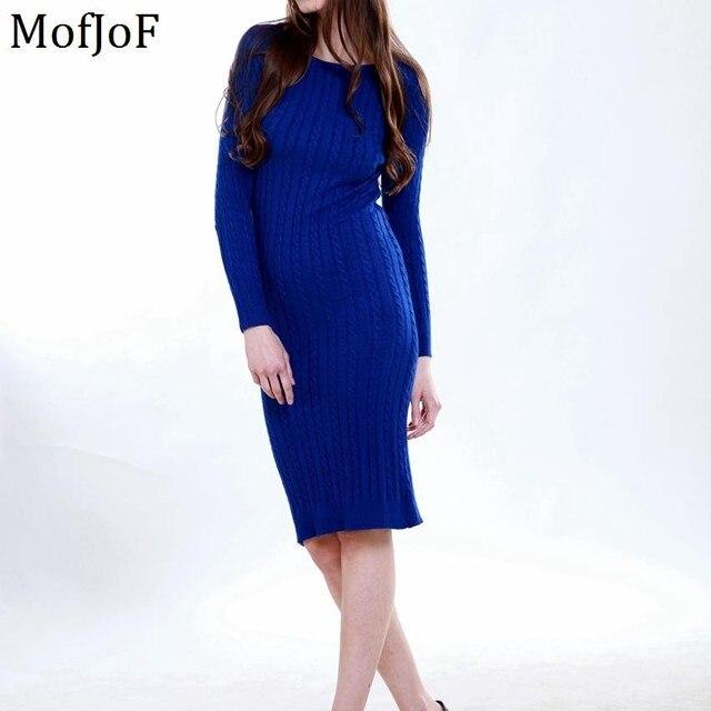 Женщины длинный свитер dress 2016 осень зима sexy тонкий Bodycon Платья Эластичный Тощие Краткие Трикотажные Dress vestidos
