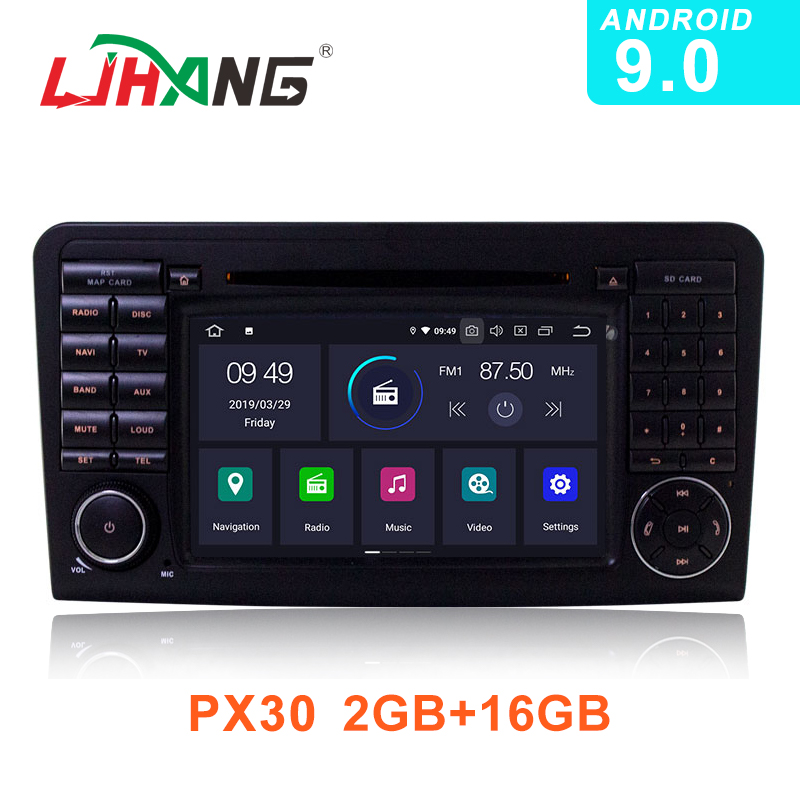 LJHANG IPS Android 9 0 Car Multimedia DVD Player For Mercedes Benz ML GL CLASS W164