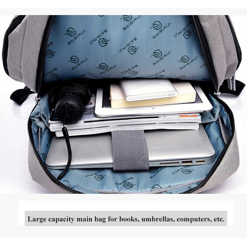 15.6 Inch Anti-Diefstal Rugzak Laptop Handtas Met Usb Lading Notebook Tas Voor Macbook Air Pro 11 12 13 15 Retina Hp Asus Dell