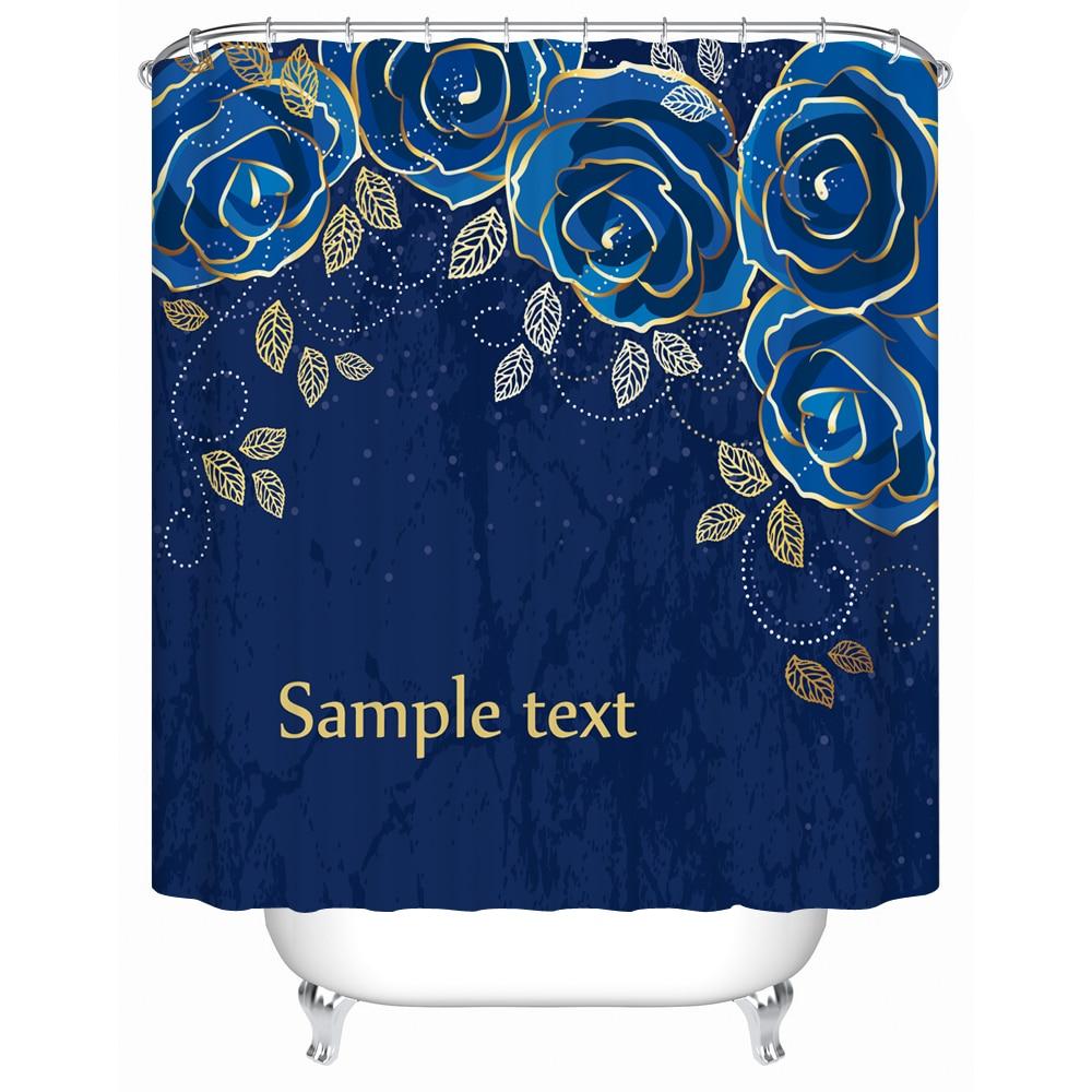 Waterproof Curtain for Bathroom Window Bath Screen Elegant Blue Roses on A  Shower Curtain Acceptable Personalized. Popular Waterproof Window Screen Buy Cheap Waterproof Window