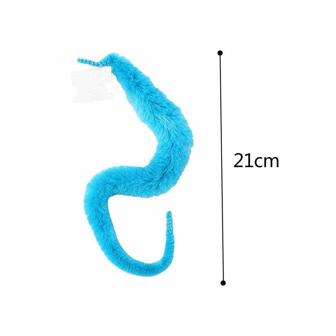 Magia twisty fuzzy worm wiggle movendo cavalo do mar crianças close-up rua comédia truques de magia brinquedos sem packdge