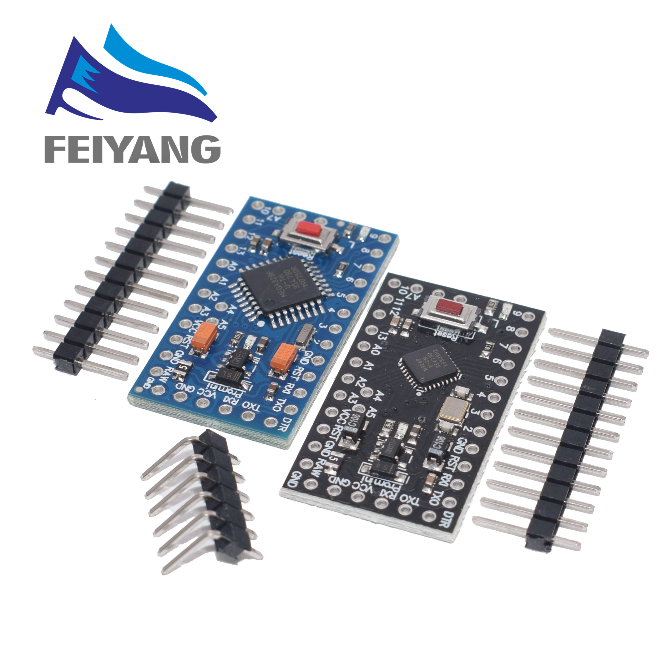 100PCS With the bootloader ATMEGA328P Pro Mini 5V 16MHz 3 3V 8Mhz 328 Mini ATMEGA328 5V