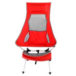 Image 2 - 2019 yeni açık Ultralight taşınabilir katlanır ağır 360lbs kapasiteli kamp katlanır sandalyeler plaj sandalyeleri