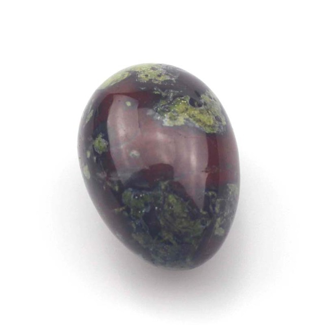 Egg Shaped Dragon Bloodstone