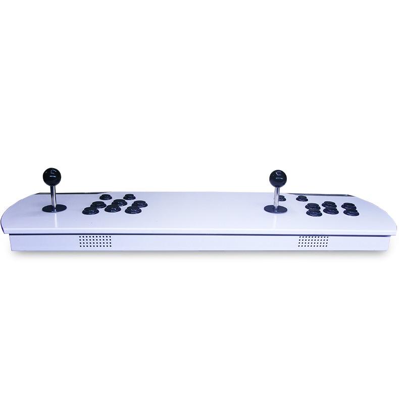 """Pandoros dėžutė 4s + Arkadiniai žaidimų pultai 815 1 """"Retro"""" žaidimų metalo dviguboje atminties konsolėje"""