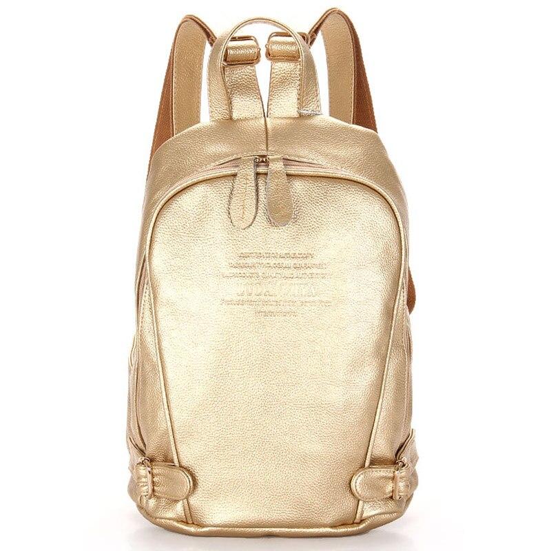 Women Backpack Genuine Leather Female Backpacks