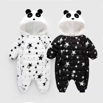 2b3fe9c31 Mamelucos BibiCola bebé invierno recién nacido niños niñas gruesas mamelucos  cálidos mono ropa infantil bebe dibujos animados traje de nieve ropa