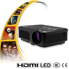 CAIWEI A6 4200 Lúmenes Full HD 1080 P Proyector Proyector LCD LED TV Del HDMI Del Proyector Digital Portátil de Audio y Vídeo en casa teatro