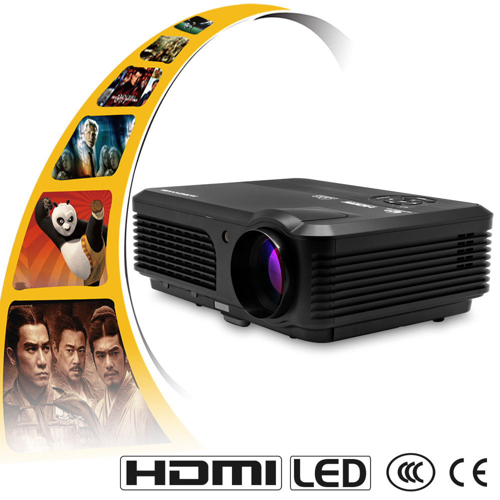 CAIWEI A6 4200 Lumens Full HD 1080P Projector LCD Projector LED TV Projector HDMI Digital Portable Audio Video home theatre