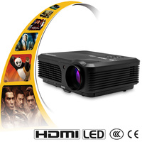CAIWEI A6 4200 Lumens Full HD Support Home Theater LED Projector HDMI USB TV Projector Beamer