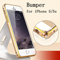 2017 New bumper for iphone 5s case Metal Aluminum + Acrylic bumper on for iPhone 5 5s Accessories Protective case for iphone 5s
