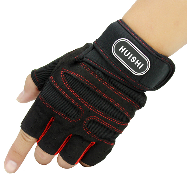 2018 Men's Military Gloves Fitness Outdoor Sports Fitness Gloves Workout Weightlifting Tactical Half Finger Gloves Sale