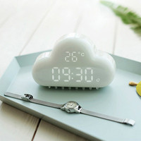 Fridge alarm luminous electronic watches bell dedicated cute quiet bedside charge small alarm clock kitchen timing
