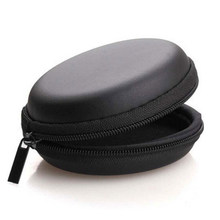 1PCS PU Portable Earphone Case Storage Hard Bag Protective Box For SD TF Cards