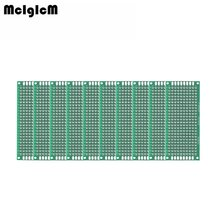 MCIGICM 200pcs Double Side Prototype PCB diy Universal Printed Circuit Board 3x7cm(China)