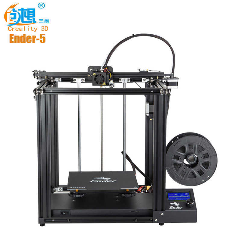 Creality3D Ender-5 imprimante 3D 180 mm/s 0.4mm bricolage Kits Support d'impression AMF STL carte SD Junior industrielle 220x220x300mm imprimantes