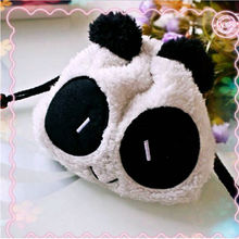 New Arrival Panda Plush Pencil Case Pen Pocket Cosmetic Makeup Bag Pouch Gift Soft Free Shipping