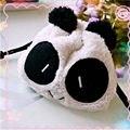 Nova Chegada Panda De Pelúcia Pencil Case Pen Bolso Cosmetic Makeup Bag Bolsa Presente Macio Frete Grátis