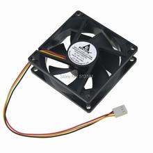GDT 12v  dc sleeve bearing brushless fan 3PIN 8CM 80MM 80X25MM