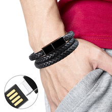 Sports bracelet usb cable Data line wire Charger charging fo