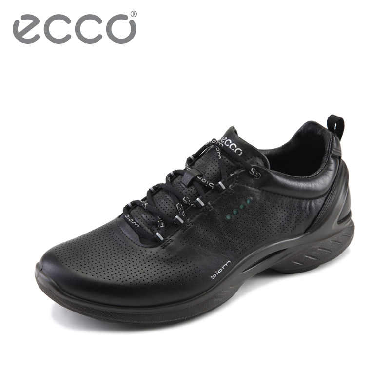 cc1adc74e83e 2018 ECCO Fashion Classic Men s Casual Shoes Outdoor Footwear Breathable  Sport Walking Shoes Waterproof Casual Sneakers