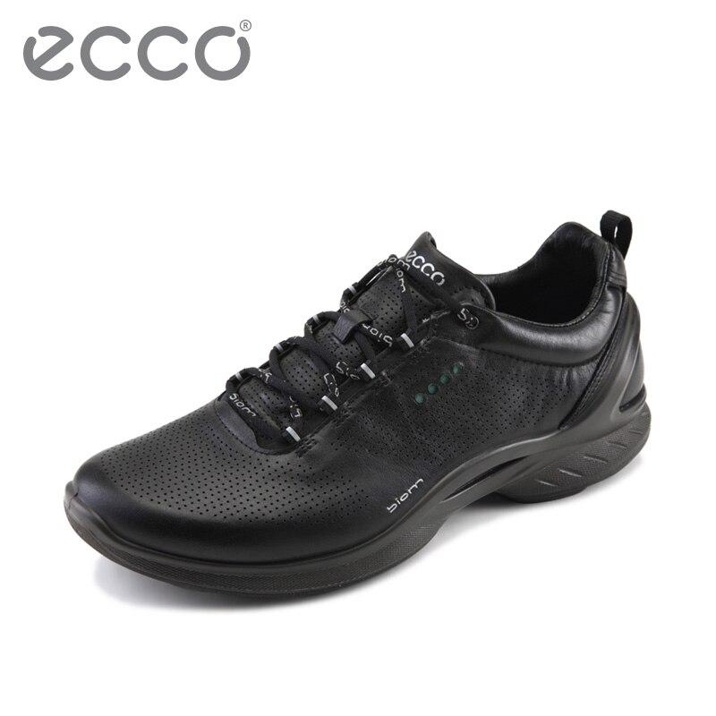 2018 ECCO Mode Classique Chaussures décontractées pour Hommes Chaussures de Plein Air Respirant Sport Chaussures de Marche Imperméable Chaussures de Sport Occasionnels