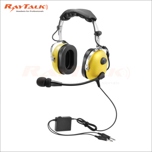 anr aviation headset active noise cancelling pilot headset with