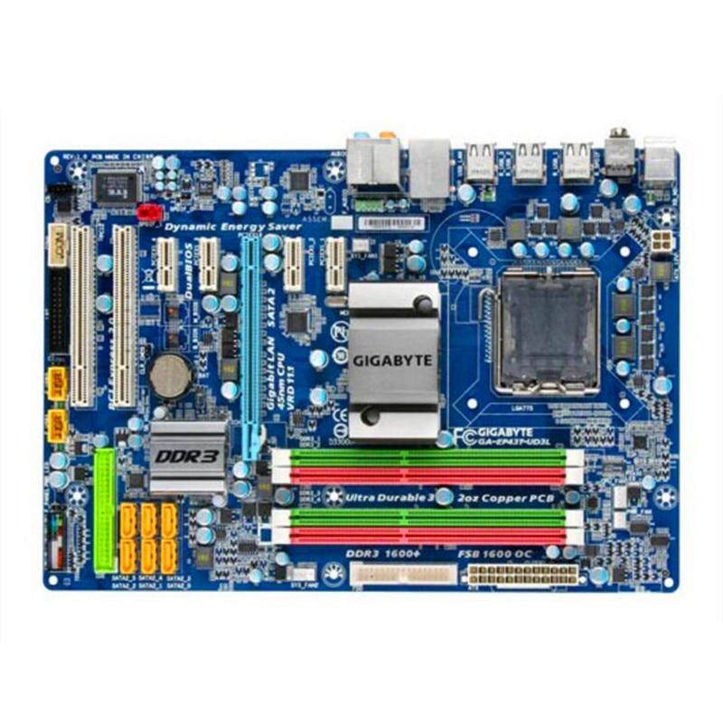 For Gigabyte GA-EP43T-UD3L Original Used Desktop Motherboard EP43T-UD3L P43 Socket LGA 775 DDR3 ATX On Sale