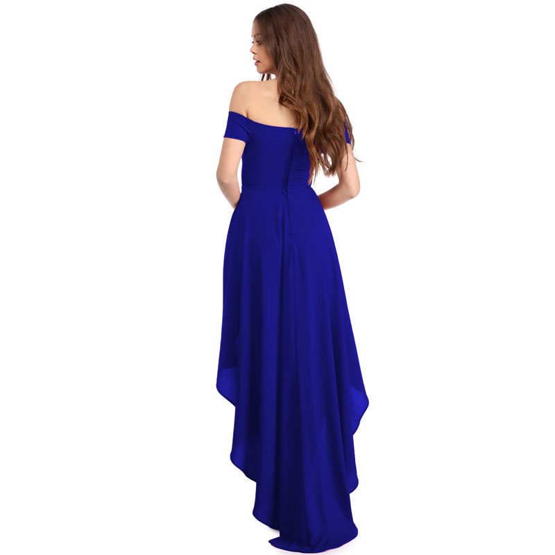 4bdc59b49e69 Zkess Off Shoulder Women Summer Bohemian Irregular Party Dress Loose Flare  Tunic Female Short Sleeve Sexy Dresses LC61437-in Dresses from Women s  Clothing ...