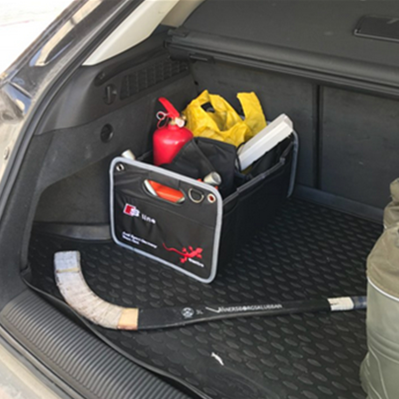 1X Trunk Box Stowing Tidyin For Audi A3 A4 A5 A6 A7 A8 B6 B8 B7