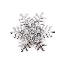 10PCS metal napkin ring color snowflake Christmas buckle jewelry cloth three optional