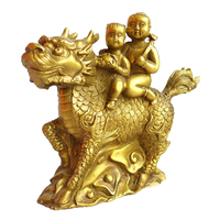 Долго Yi латунные украшения меди Kylin Songzi домашнего интерьера ювелирные ремесла украшения 1070105