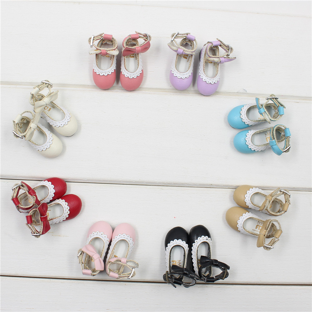 Neo Blythe Doll Designer Shoes with Bow 2