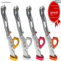 GY6 scooter motorcycle stand motorcycle side stand motorcycle lift silver red yellow orange free shipping