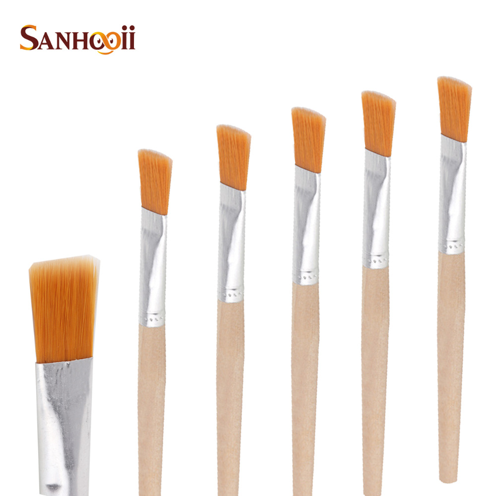 How to clean paintbrushes - Aliexpress Com Buy 5 Wood Dust Cleaner Soft Cleaning Brush Cranny Painting Mobile Phone Computer Keyboard Pcb Clean Brushes Anti Static Repair Tool From