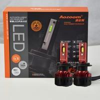 Aozoom 2019 Latest LED Headlight 60W 7600LM H1 H4 H7 H11 9005 9006 9012 5500K Auto Headlamp