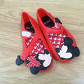 Cute Kids Girls Beach Sandals Mickey Minnie Mini Melissa Shoes Baby Children Footwear Candy Smell Shoes 10pairs/lot Wholesale
