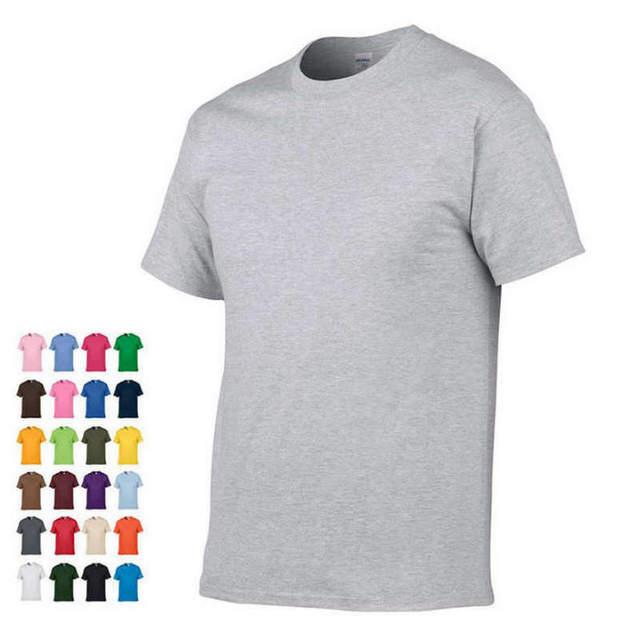 2019 sommer Neue Hohe qualität männer T shirt beiläufige kurze hülse o-ansatz 100% baumwolle t-shirt männer marke weiß schwarz t hemd