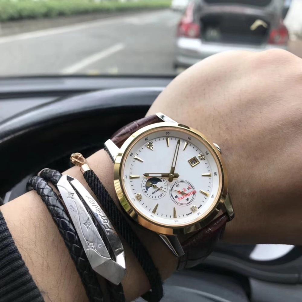 Mens Watches Top Brand Runway Luxury European Design Automatic Mechanical Watch S0748 цена и фото