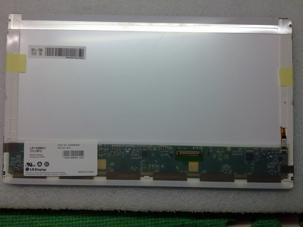 Quying 13.3''laptop LCD Screen LP133WH1 (TP) (D1) LP133WH1 TPD1 LTN133AT17 For DELL E4310 E4300 notbook 30PIN for dell e4310 e4300 lcd screen lp133wh1 tpd1 ltn133at17 laptop lcd screen 30pin