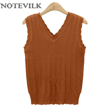 Buy cropped sweater vest and get free shipping on AliExpress.com