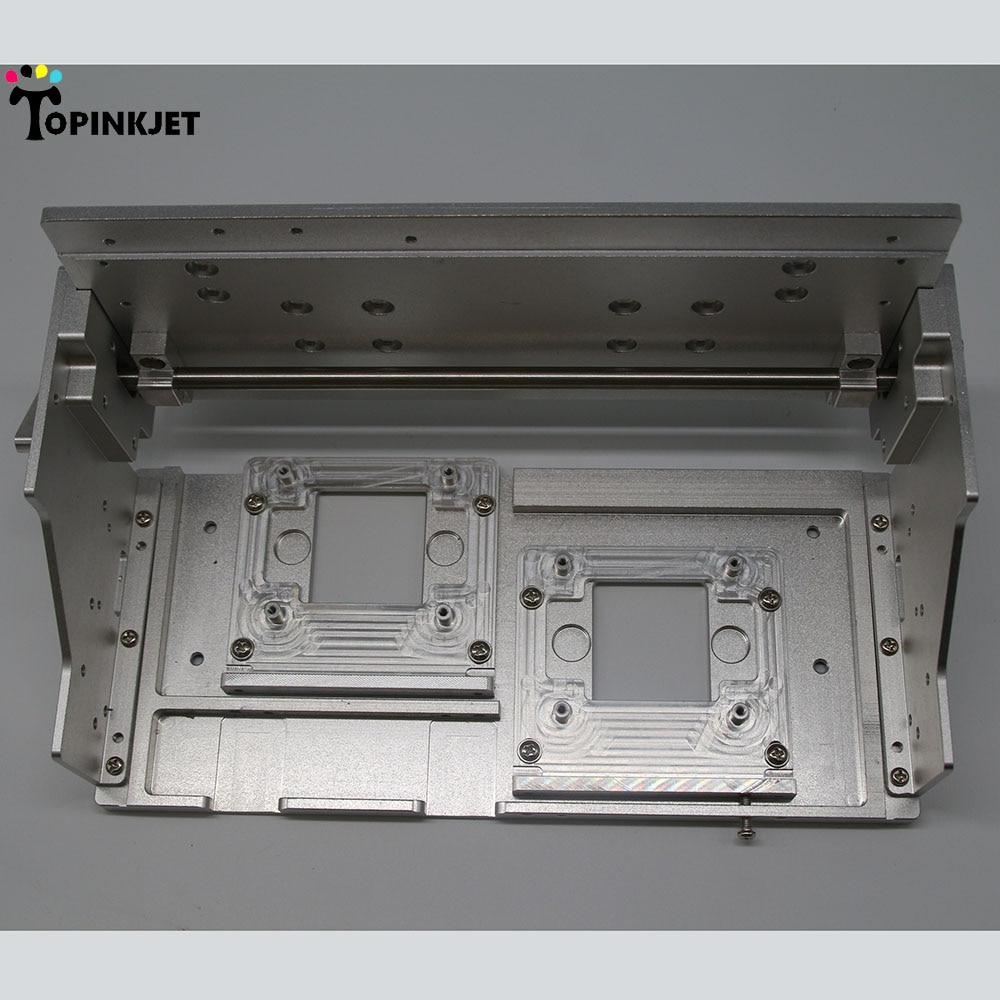 Cadre de support de tête d'impression de support en métal de double tête de XP600 pour assembler la machine d'impression