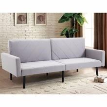 Lovely Giantex Futon Schlafsofa Cabrio Liege Couch Splitback Lagerschwelle Mit  Holz Beine Moderne Wohnzimmer Möbel HW57254(