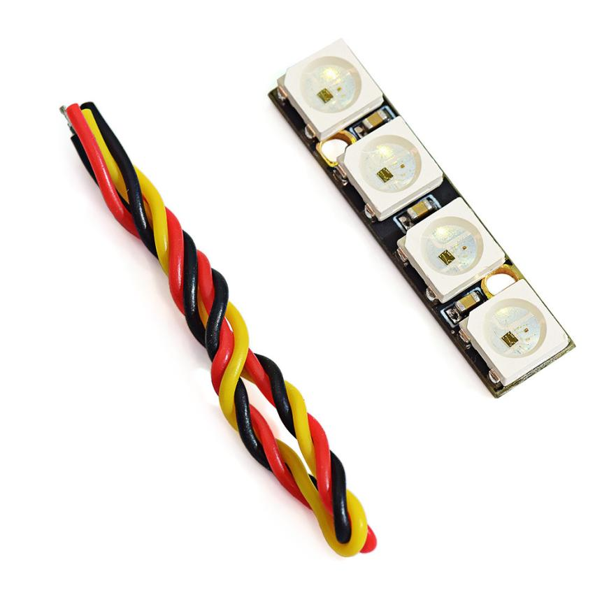 Parts & Accessories Glorious Ws2812b Rgb5050 Programmable Led Compatible With Naze32 F3 F4 Flight Controller Dropship Y731 Preventing Hairs From Graying And Helpful To Retain Complexion